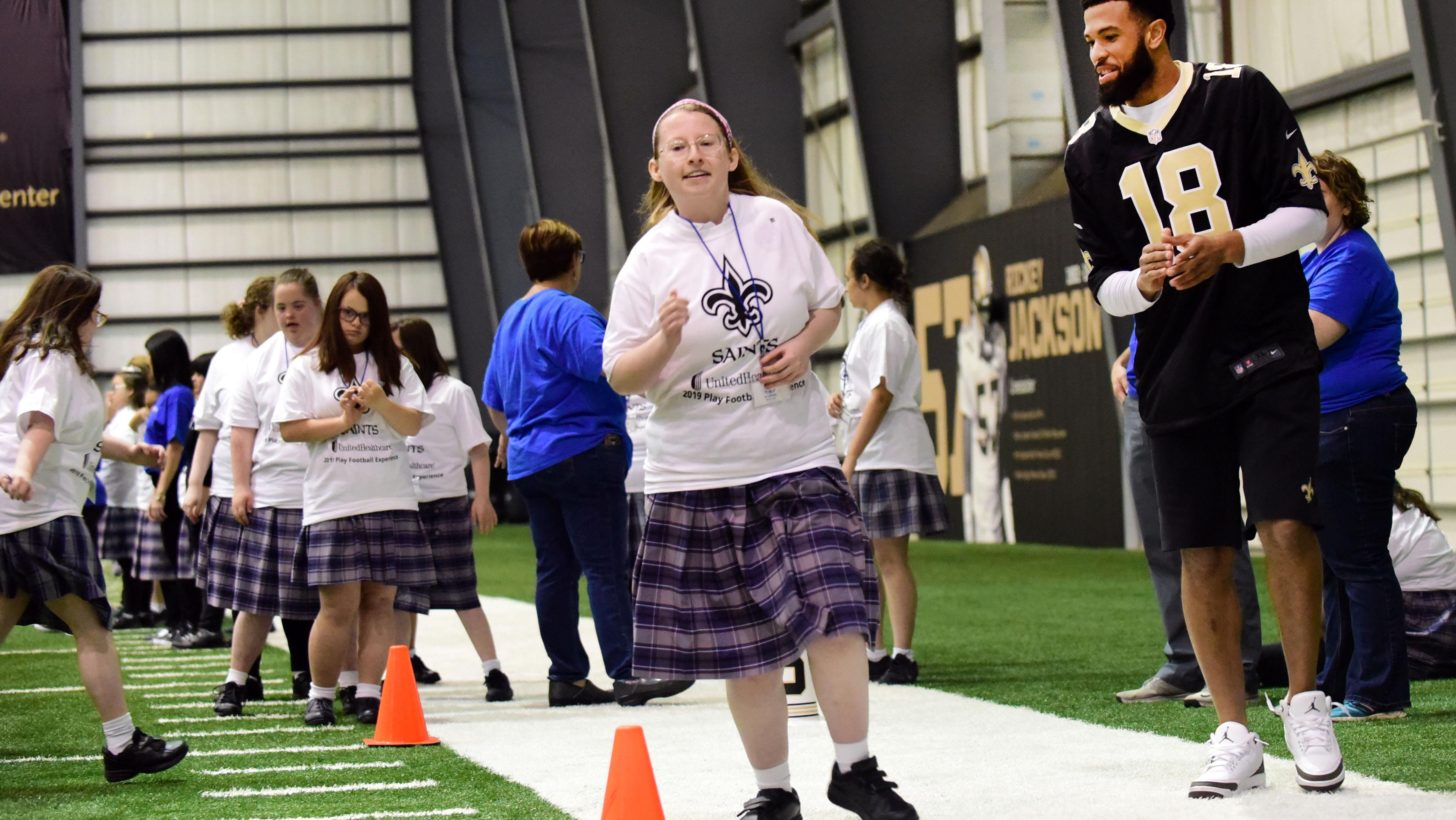 e6524ce9 Newsroom - UnitedHealthcare, New Orleans Saints Help Kids Get Active ...